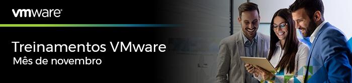 Treinamentos VMware de Novembro