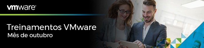 Treinamentos VMware de Outubro