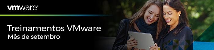 Treinamentos VMware de Setembro